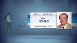 FSU Head Football Coach Jimbo Fisher on QB Deshaun Watson - 4/27/17