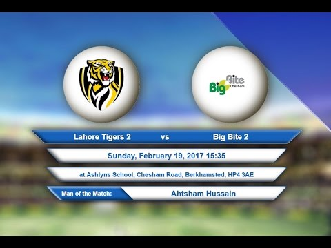 Video Lahore Tigers 2 VS Big Bite 2 - 19-Feb-2017