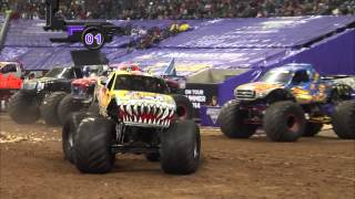Monster Jam in Reliant Stadium - Houston, TX 2014 - Full Show - Episode 2