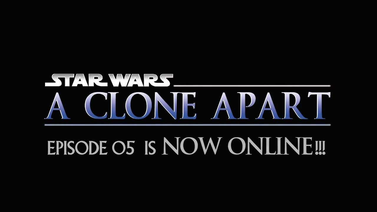 Star Wars Machinima A Clone Apart Returns