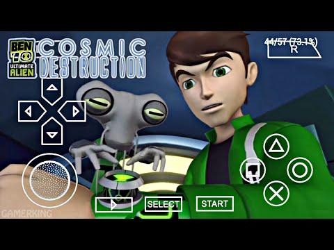 150MB] Ben 10 Ultimate Alien Cosmic Destruction Android