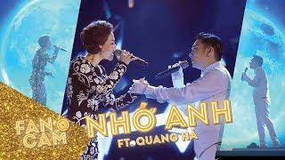 Liveshow Quang Hà: Thu Minh song ca Nhớ Anh cực mùi mẫn