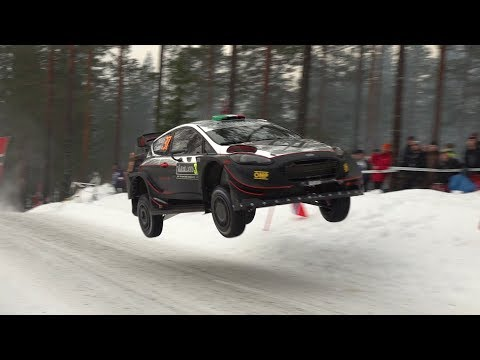Leg 1 - Rally Sweden 2019 - L. Bertelli / S. Scattolin - Ford Fiesta WRC+