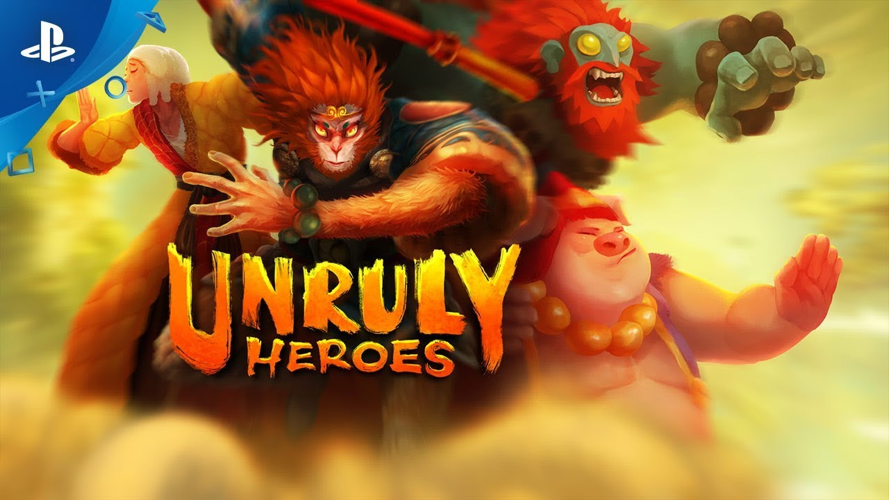 Revisit a Legend in Unruly Heroes, Out May 28 on PS4