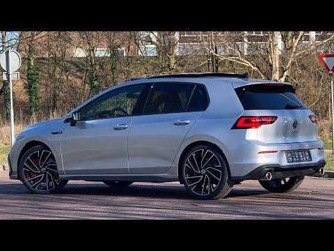 Volkswagen NEW Golf 8 GTI 2021 in 4K Reflex Silver 19 inch Adelaide Walk around & detail inside