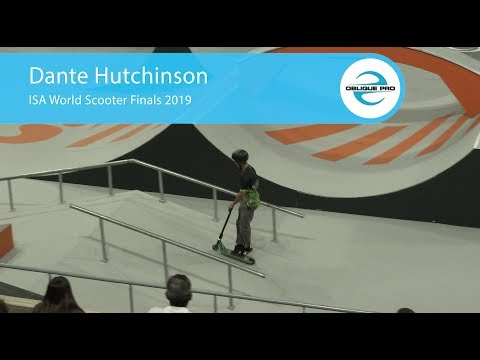 Dante Hutchinson - ISA Men's World Scooter Semi Finals 2019