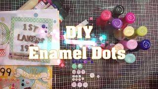 DIY // Enamel Dots mit Nagellack selber machen OHNE Backofen // Tutorial deutsch // PamiStyle