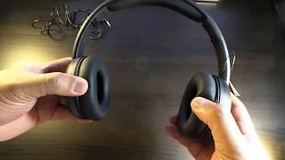 AmazonBasics Over-Ear Headphones Unboxing /review