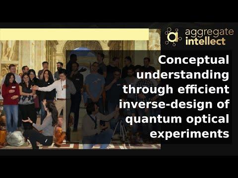 Conceptual understanding through efficient inverse-design of quantum optical experiments