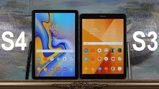 Samsung Galaxy Tab S4 vs Samsung Galaxy Tab S3: Full Comparison