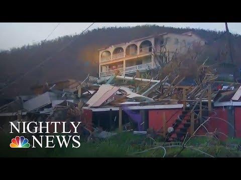 An Inside Look At Hurricane Irma's Wrath On St. John | NBC Nightly News