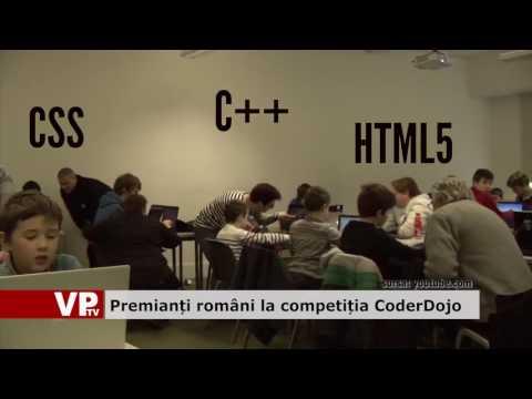 Premiați români la competiție CoderDojo