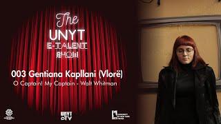 UNYT E-Talent Show 11 April 2020 Gentiana Kapllani 003