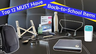 Top 12 MUST HAVE Back To School Items For College / University