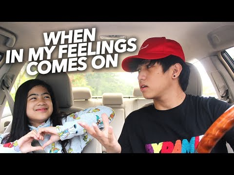 When In My Feelings By Drake Comes On | Ranz And Niana - Ranz Kyle