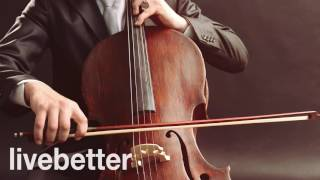 Relaxing Classical Cello Music Solo - Soothing Instrumental Background Pieces   Study, Work, Relax