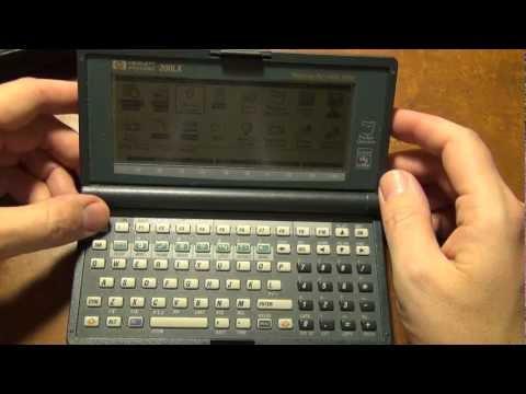 ИТ-музей: обзор портативного хендхелда ПК HP 200LX, 1994г.