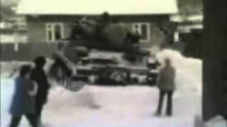 Ruscy Pojechali Czołgiem Po Wódke
