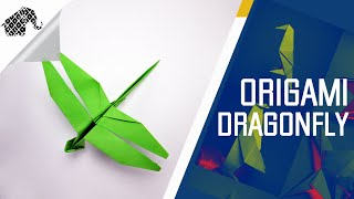 Origami How To Make An Origami Dragonfly