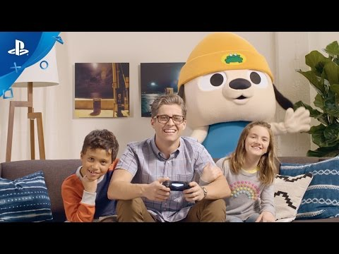 PaRappa The Rapper Remastered - PlayStation Experience 2016 Trailer | PS4 thumbnail
