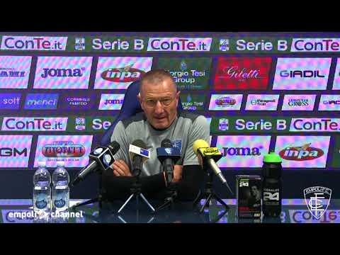 Preview video Le parole di mister Andreazzoli alla vigilia di Empoli-Pro Vercelli