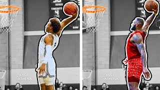 Bronny James VS LeBron James At Age 15