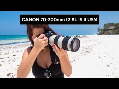 Canon 70-200mm f/2.8 L IS II USM | das beste Teleobjektiv im Test | Deutsch