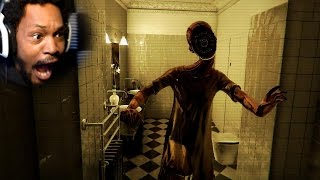 WHERE THE FREAK DID YOU COME FROM | Bathroom Gameplay (Japanese Horror Game)