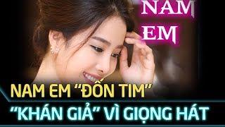 Hoa khôi Nam Em 'đốn tim' khán giả với giọng hát cực ngọt qua ca khúc 'Phải Lòng Con Gái Bến Tre'