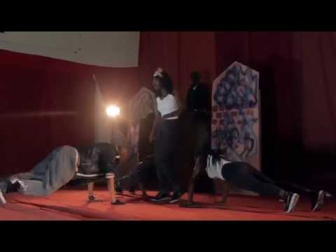 Raiders Dancers Steal The Show @ 2Face & Omawumi Dance Audition.In
