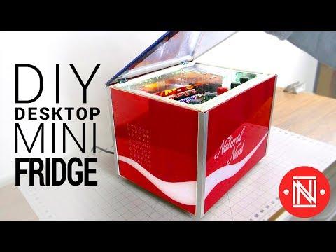 DIY Desktop Mini Fridge (5°C!!)
