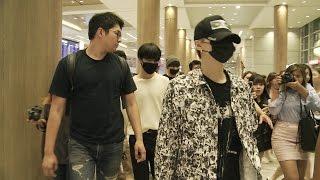 '방탄소년단' 공항 마비를 부르는 그들의 입국 현장