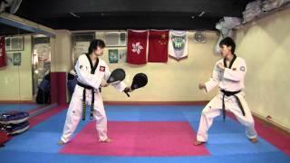 【Taekwondo】Combo Kicks, Turning Kicks, Single Kicks