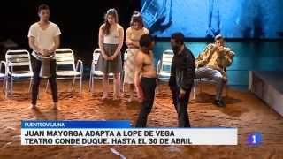 #FuenteOvejuna | @LaJovenCompania | Informativos TVE Madrid