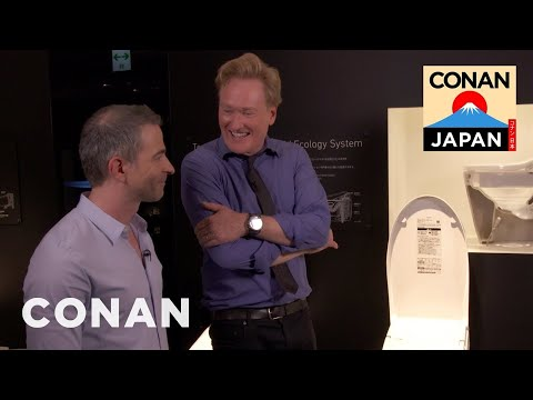 Conan v Japonsku #6: Showroom japonských toalet