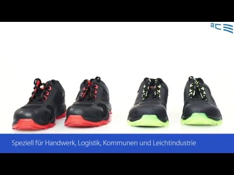 Sicherheitsschuh Heckel Run-R Produktvideo