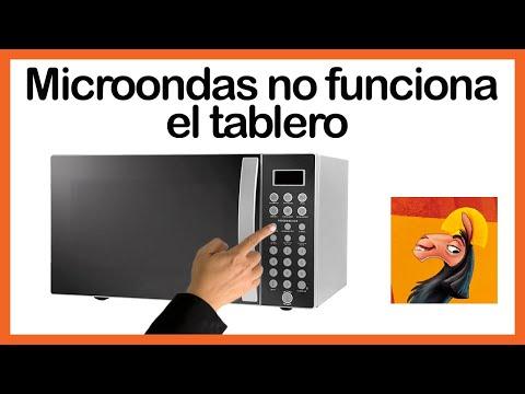 Microondas no funciona, el tablero teclado número inicio parte # 1