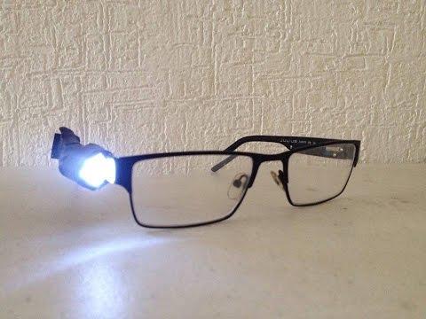 Linterna LED, modificación de mis lentes, actualización