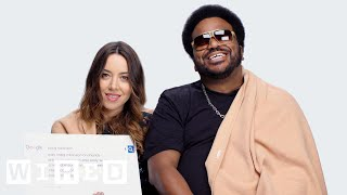 Aubrey Plaza & Craig Robinson Answer the Web