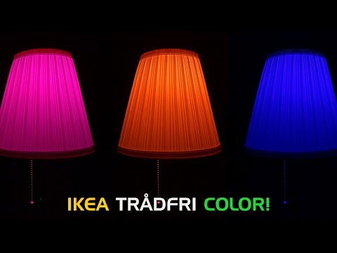 It's Here! IKEA Tradfri Color Changing Smart Bulb Review