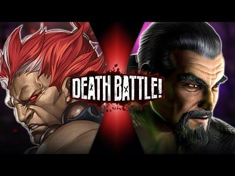 Akuma VS Shang Tsung (Street Fighter VS Mortal Kombat)   DEATH BATTLE!