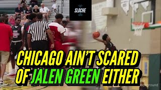 Team Rose Goes At 5 Star Jalen Green | Chicago Ain't Scared of NOBODY Pt. 2!!