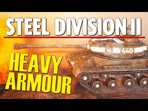 HEAVY ARMOUR! Steel Division 2 Conquest Gameplay (Veselovo, 3v3)