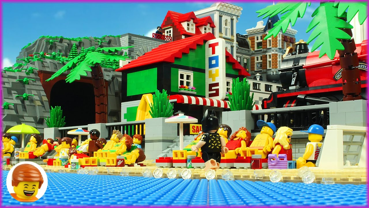 Lego Super Heroes Beach Fail