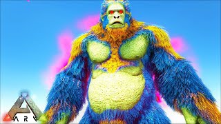 EPIC ALPHA YETI & TEK MOSA BOSS !!! ARK SURVIVAL EVOLVED CRYSTAL ISLES MEGA MODDED E28