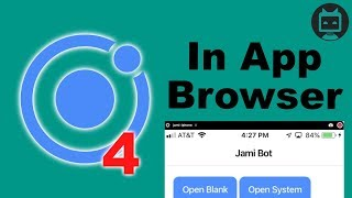 Ionic 4 InAppBrowser Tutorial