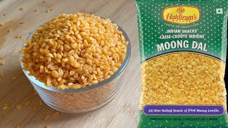 Haldiram's Style Moong Dal   Crispy Moong Dal Namkeen   How To Make Moong Dal Namkeen Recipe #snacks