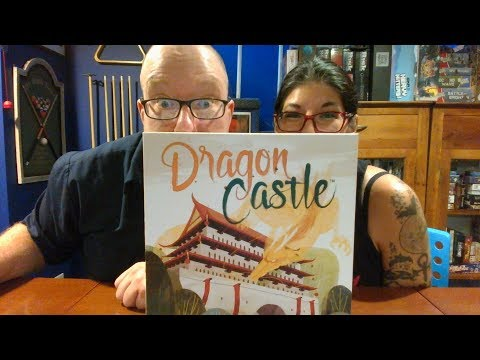 The Board Game Kaptain's review and tutorial for Dragon Castle