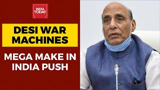 Made In India Arsenal: Defence Ministry Bans 101 Import Items In Push For Atmanirbhar Bharat - Download this Video in MP3, M4A, WEBM, MP4, 3GP