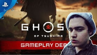 Easy(easygogame) смотрит: Ghost of Tsushima - E3 2018 Gameplay Debut | PS4